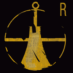The buoy-like logo seen at the start of the level.