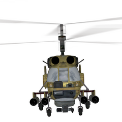 Front of the Ka-27.