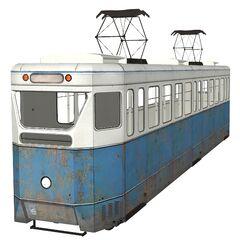Tram model.