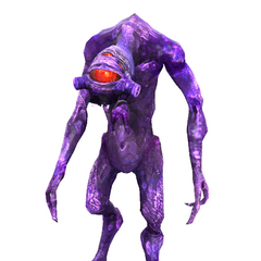 Episode Two purple Vortigaunt model.