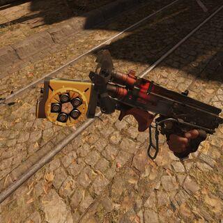 Shotgun with a grenade launcher
