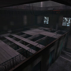 Inside the radio tower in the map