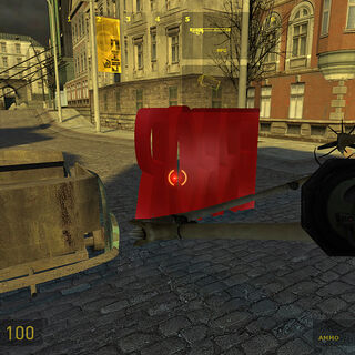The Immolator worldmodel error after killing a Strider in the map <code>e3_strider</code>.