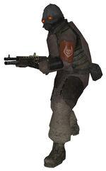 Combine shotgun soldier