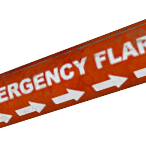 Emergency flare model from <i>Episode One</i>.