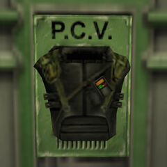 The PCV in the Armory.