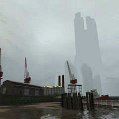 The Citadel and docks in