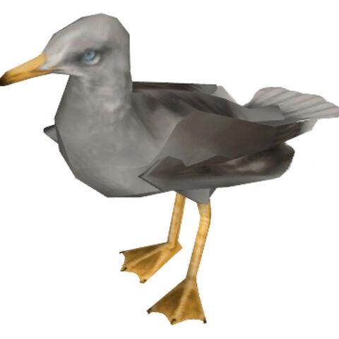 <i>Half-Life 2</i> seagull model.