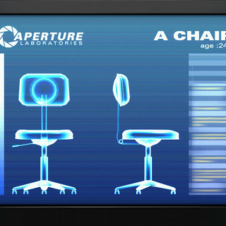 Ditto, for a chair.