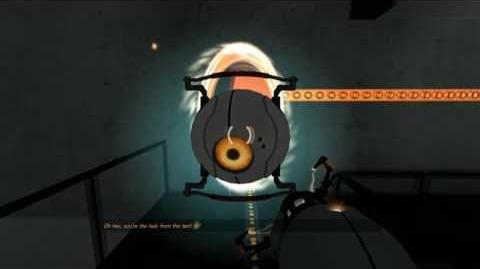 -Portal Beta- Early 2007 GLaDOS Fight