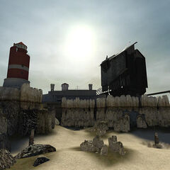 The Depot in the map
