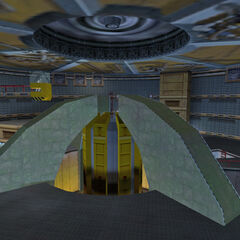 The Lambda Complex teleport, the Dimensional Portal Device.