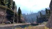 Outlands stream white forest