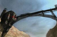 Wasteland bridge