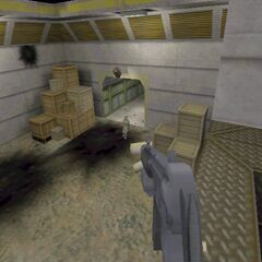 Ivan's model in an early version of the multiplayer map