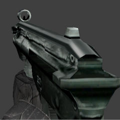 The gun's view model