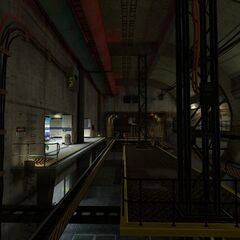 Another Screenshot of Living Quarter Outboud with the updated texture of the level design.