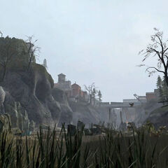 Gorge in the <i>Half-Life 2: Episode Two</i> trailer.