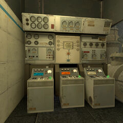The three Mobility Gel consoles in Pump Station Gamma.