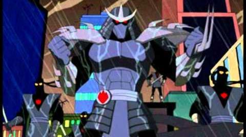 TMNT 2003 Shredder theme