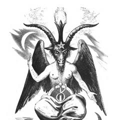 A capra demon.