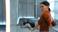 Chell in-game