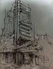 Destroyed skyscraper