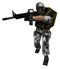 SHL m16 soldier
