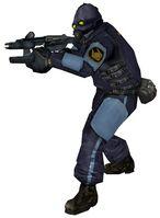 Combine prison guard