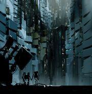 Robots in the vault