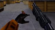Shotgun cut animation