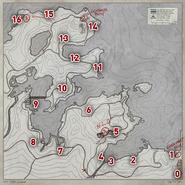 Coastmap sheet numbered