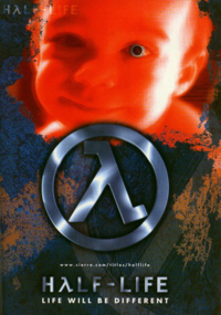 Half-Life baby poster