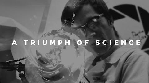 A Triumph of Science Триумф Науки