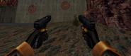 Brutal glock akimbo