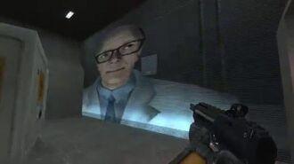 "Half-Life 2 Beta ""hazard01"" Unreleased hazard course with Gman 1080p HQ"