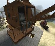 Magnetic crane seat