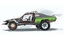 Car concept green