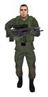 Conscript armed
