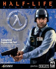 Cover Half-Life Blue Shift