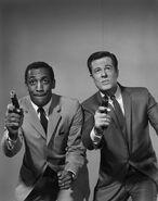 Culp with bill cosby 1965