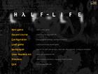 Half-Life WON menu