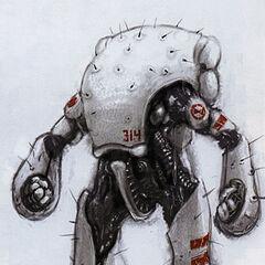 Concept art pour le Combine Super Soldier.