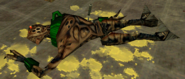 Opposing Force Vortigaunt con Cuchillo clavado