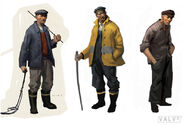 The Fisherman concept art