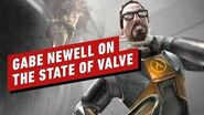 Gabe Newell Talks Half-Life Alyx & Valve's Past and (Unexpected) Future – IGN First