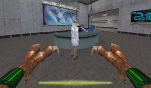 PS2 Alien Mode shot