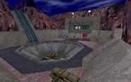 Rocket launch canyon