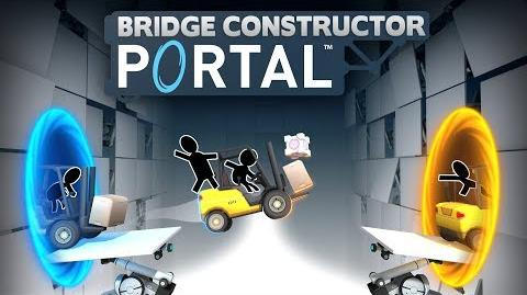 Bridge Constructor Portal - Announcement Trailer