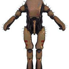 Une image du Combine Super Soldier associé aux élites du Cartel dans le <i>model viewer</i> du Source SDK.
